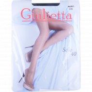 Колготы женские «Giulietta» (solo, 40 den, nero) 2S.