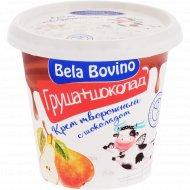 Крем творожный «Bela Bovino» груша и шоколад, 3%, 145 г