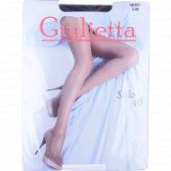 Колготы женские «Giulietta» (solo, 40 den, nero) 3 M.