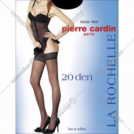 Чулки «PIERRE CARDIN» (20 den nero 3).