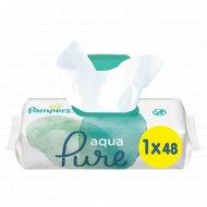 Детские влажные салфетки «Pampers» aqua pur, 48 шт.