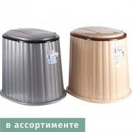 Сиденье для дачного туалета «Dunya plastik» 09045R, 45х38х42 см