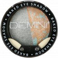 Тени для век запеченные «Demini» Baked Eye Shadow 09 серебристый иней, 3 г.