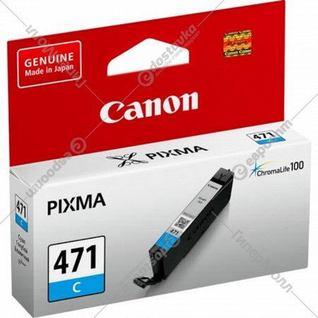 Картридж «Canon» CLI-471 C 0401C001.