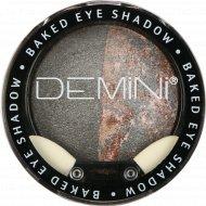 Тени для век запеченные «Demini» Baked Eye Shadow 10 графитовый метеорит, 3 г.