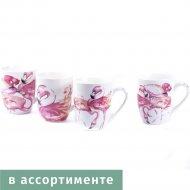 Чашка фарфоровая «Фламинго» 350 мл.