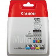 Картридж «Canon» CLI-471 MultiPack 0401C004.
