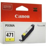 Картридж «Canon» CLI-471 Y 0403C001.