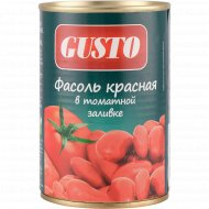 Фасоль красная «Gusto» в томатной заливке, 400 г