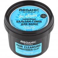 Бальзам-глина для волос «Organic Kitchen» очищающий, So clean, 100 мл.