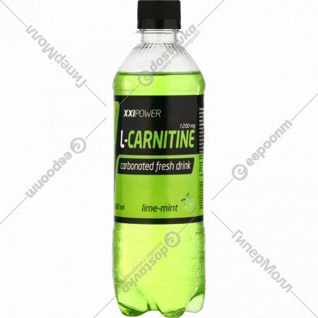 Напиток газированный «L-Карнитин» лайм-мята, 0.5 л.