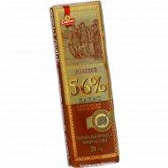 Шоколад «Спартак» горький 56 %, 20 г.