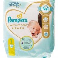 Подгузники «Pampers» Premium Care, 2-5 кг, размер 1, 20 шт.