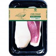 Стейк утиный «Галерея вкуса» 1 кг., фасовка 0.3-0.4 кг