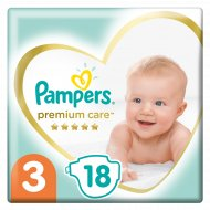 Подгузники «Pampers» Premium Care, 6-10 кг, размер 3, 18 шт.