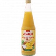 Напиток сокосодержащий «Voelkel» ананас-кокос, 700 мл.