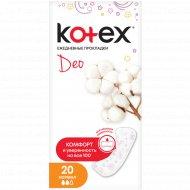 Прокладки «Kotex lux» normal deo 20 шт.