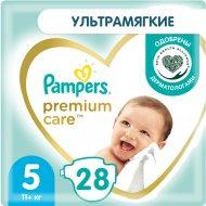 Подгузники «Pampers» Premium Care, 11 кг, размер 5, 28 шт.
