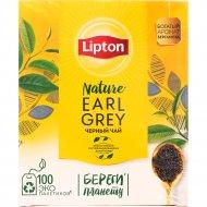Чай черный «Lipton» earl grey, 100 пакетиков х 2 г, 200 г.