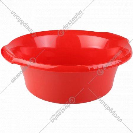 Таз пластмассовый круглый «Водолей» 45Х40 см, 12 л.