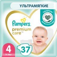 Подгузники «Pampers» Premium Care, размер 4, 9-14 кг, 37 шт.