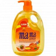 Гель для мытья посуды «Мама лимон» с ароматом апельсина, 1000 мл.