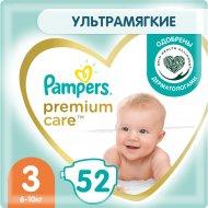 Подгузники «Pampers» Premium Care, размер 3, 6-10 кг, 52 шт.