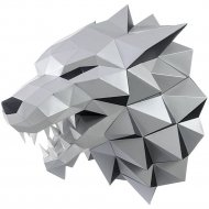 Набор для творчества «Голова трофейная» лютоволк, серый
