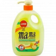Гель для мытья посуды и детских принадлежностей «Мама лимон»,1000 мл.