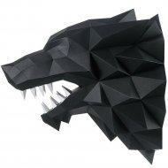 Набор для творчества «Голова трофейная» лютоволк, черный