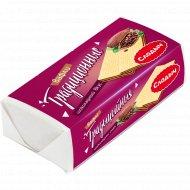 Вафли «Традиционные» шоколадный вкус, 100 г.