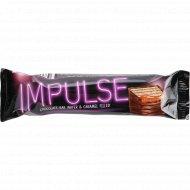 Вафли глазированные «Impulse» с карамелью в шоколаде, 16 г.