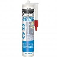 Герметик силиконовый «Ceresit» CS 25, шоколад, 280 мл