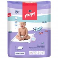 Пеленки гигиенические детские «Bella Baby Happy» 60 х 60, 5 шт.