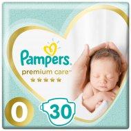 Трусики-подгузники «Pampers» Premium Care от 1.5-2.5кг, 30 шт.