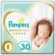 Подгузники «Pampers» Premium Care от 1.5-2.5 кг, 30 шт.