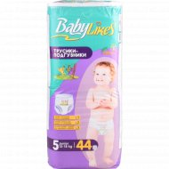 Трусики-подгузники «Baby Likes» Junior, размер 5, 12-18 кг, 44 шт