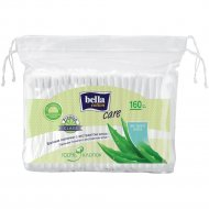 Ватные палочки «Bella cotton care» с экстрактом алоэ, 160 шт.