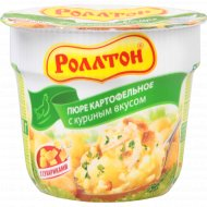 Картофельное пюре «Роллтон» куриное 40 г.
