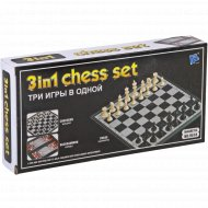 Шахматы 3 в 1 магнитные.