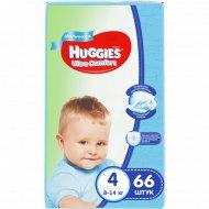 Подгузники для мальчиков «Huggies Ultra Comfort» размер 4, 66 шт.