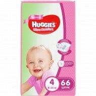 Подгузники «Huggies» Ultra Comfort для девочек, размер 4, 66 шт.