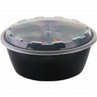 Контейнер круглый с крышкой «Покровский полимер» 950 мл, 1 шт.