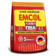 Обойный клей «Emcol» сила ПВА, для флизелиновых обоев, 200 г.