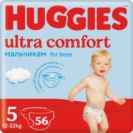 Подгузники «Huggies Ultra Comfort» 12-22 кг, 56 шт.
