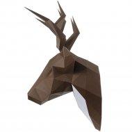 Набор для творчества «Голова трофейная» олень Петрович, коричневый