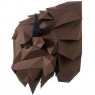 Набор для творчества «Голова трофейная» зубр Волат, коричневый