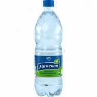 Вода минеральная «Минская-4» газированная 1 л.