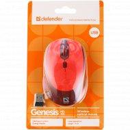 Мышь «Defender» Genesis MB-795, red, 52797.