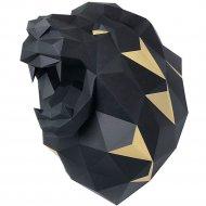 Набор для творчества «Голова трофейная» лев,черный